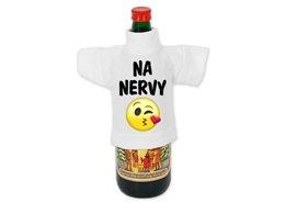 Tričko na láhev s fotkou