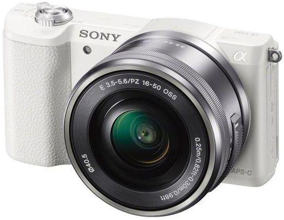 Sony ILCE-5100 + 16-50 mm - bílý