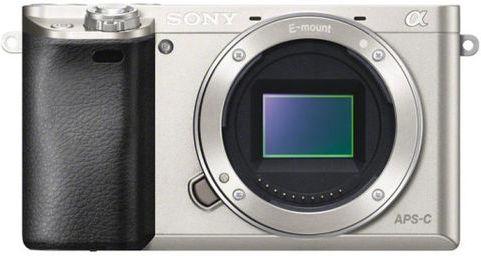 Sony ILCE-6000 stříbrný - tělo