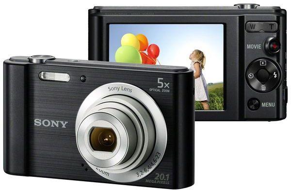 Sony DSC-W800 černý