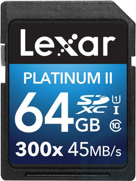 Lexar SDXC 64GB 300x Premium Series (Class 10) U1- 45MB