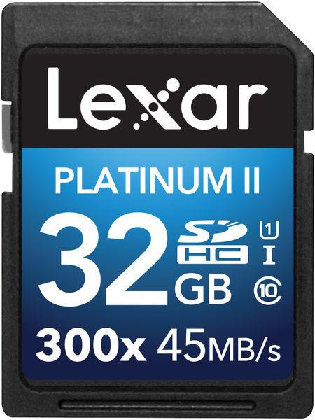 Lexar SDHC 32GB 300x Premium series (Class 10) U1- 45MB