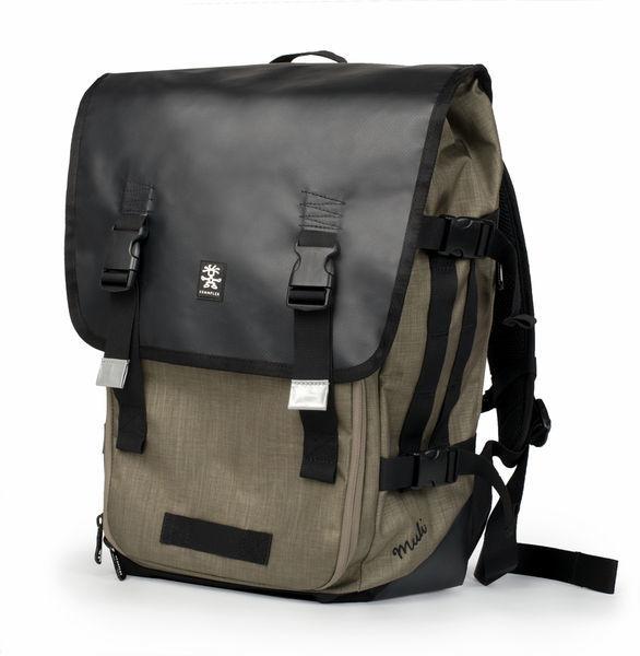 Crumpler Muli Half Photo Backpack - black tarpaulin/khaki