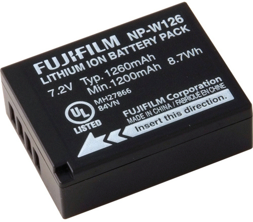 Fujifilm NP-W126s