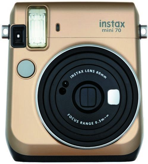 Fujifilm Instax Mini 70 - zlatý