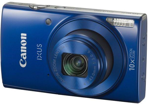 Canon IXUS 190 - modrý