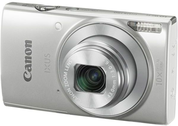 Canon IXUS 190 - stříbrný