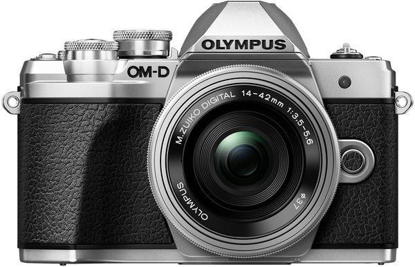 Olympus E-M10 Mark III + 14-42 mm EZ stříbrný/stříbrný