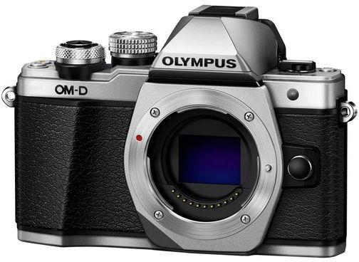 Olympus E-M10 Mark II tělo - stříbrný