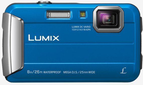 Panasonic Lumix DMC-FT30 modrý