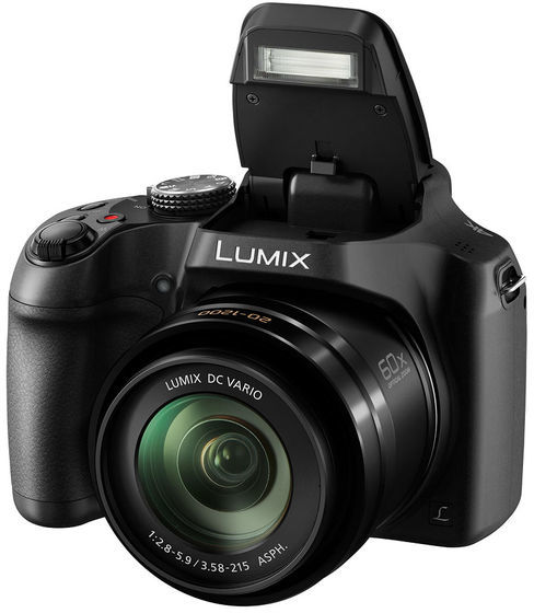 Panasonic Lumix DMC-FZ82 černý