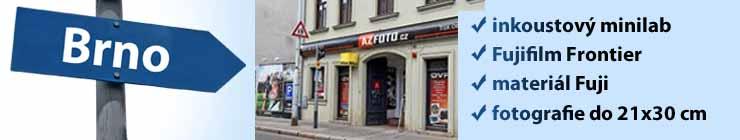 Fuji inkoustový tisk fotek v Brně na pekařské