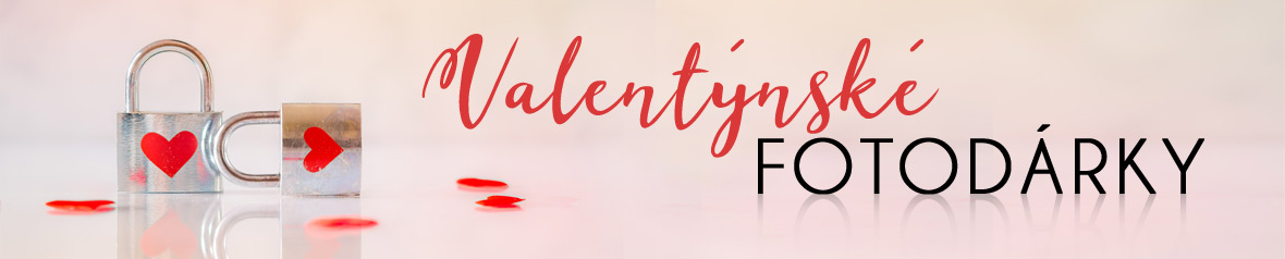 Valentýnské fotodárky z vašich fotek