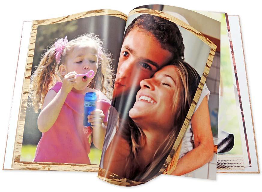 Fotokniha v pevné vazbě